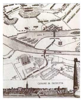 Mappa e profilo storico di cassano